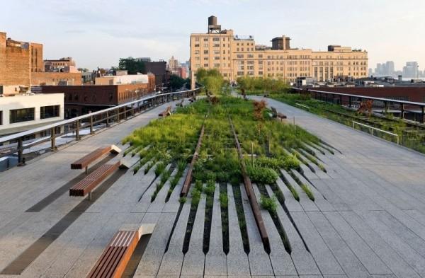 High line park é gratuito e imperdível em Nova York (foto: Divulgação)