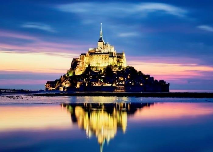 Mont Saint-Michel é o terceiro lugar mais visitado da França