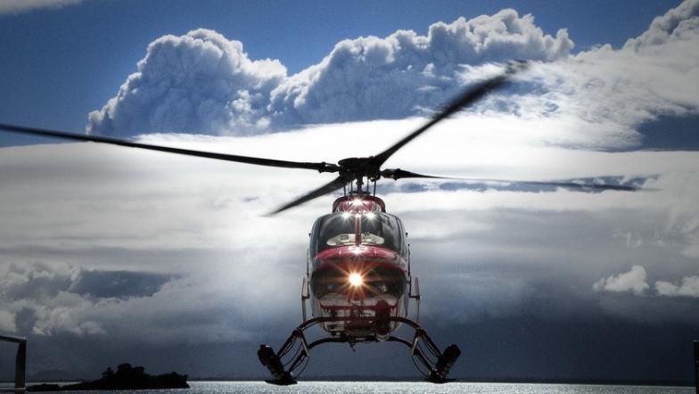 Voo de helicóptero no Ushuaia é imperdível foto Brasileiros no Ushuaia