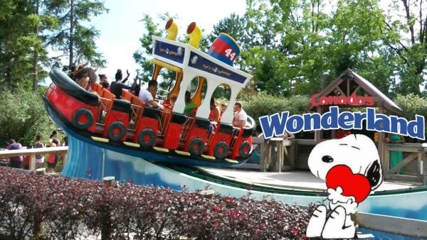 Na área Planet Snoopy, criançada se encanta com brinquedos lúdicos e personagens Peanuts