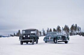 Aventura no Ártico! Viagem fantástica leva à escola de direção no gelo