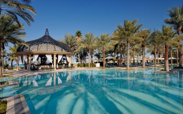 Que sonho, hein? One&Only Royal Miragem em Dubai, acima, ganhou como o número 1 no Oriente Médio
