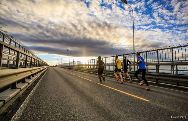 maratona meia noite noruega