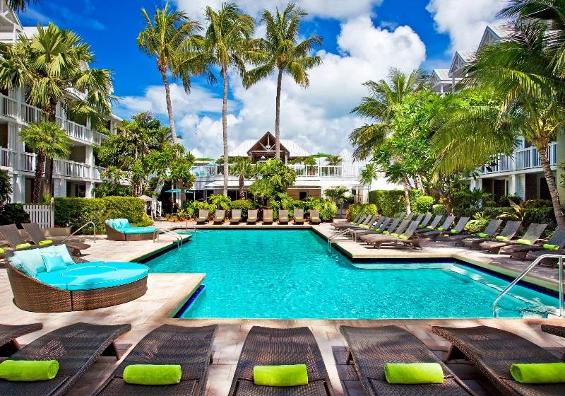 Piscina para curtir o calorão de Key West (foto divulgação)