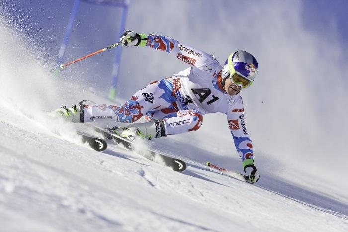Campeãode esqui e caçula da família, Alexis Pinturault