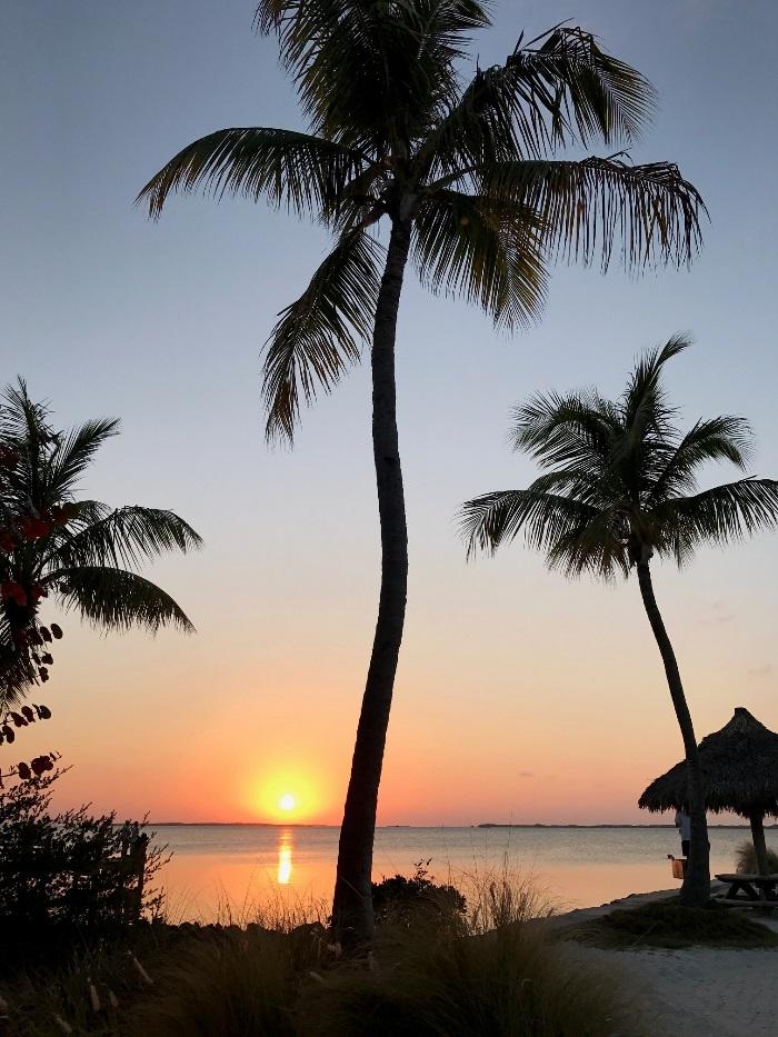 Assistir ao sol que cai na Flórida Bay é programa imperdível em key Largo