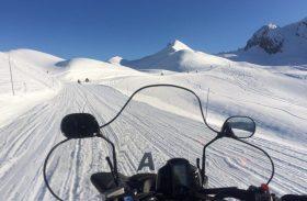 Snowmobile em Courchevel: aventura nos picos nevados é imperdível