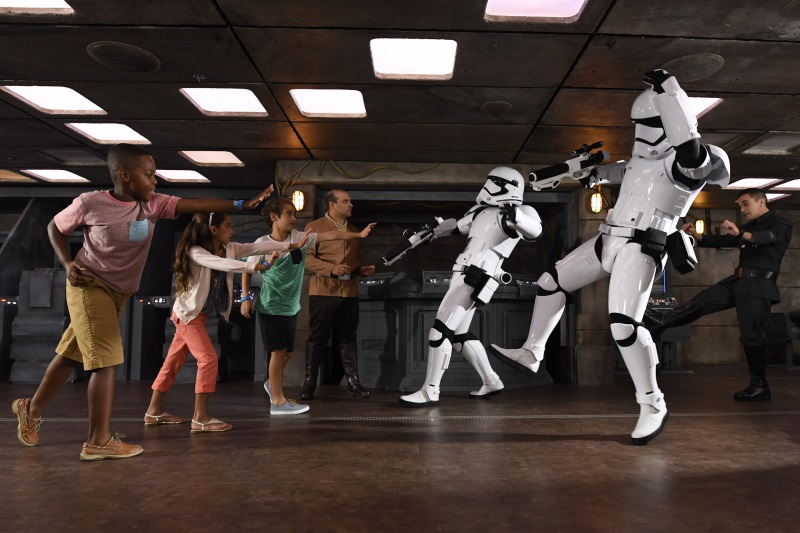 On the Disney Fantasy, young guests are transported to a galaxy far, far away in the all-new Star Wars: Command Post. Here in this immersive youth space, children harness the power of the Force and embark on missions against the First Order.