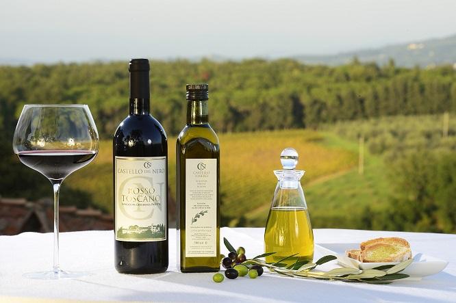 Castello del Nero - Azeite e vinho