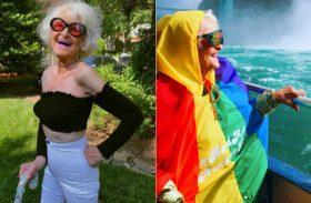 No Rio, vovó gringa de 89 anos samba para cumprir as coisas a fazer antes de morrer