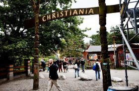 Christiania,  em Copenhagen, vive Sociedade Alternativa de Raul Seixas