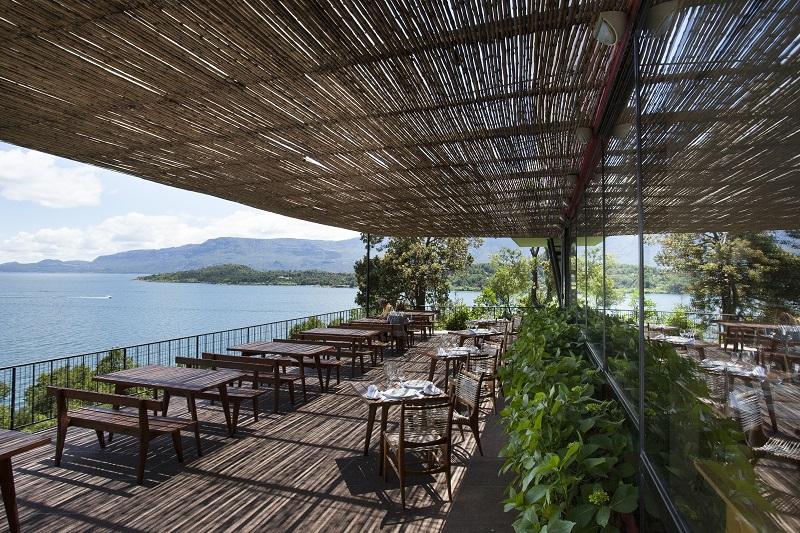 Hotel Antumalal - Restaurante externo - baixa