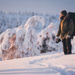 Visit Finland - hiker in riisitunturi national park
