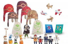 Brinquedos de bordo ecológicos (e fofos) é a aposta da Turkish Airlines