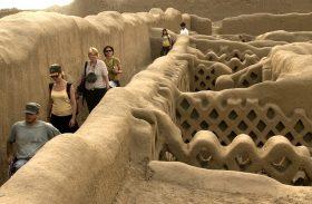 Culturas pré-Incas e arqueologia impressionante vistas em Trujillo, no Peru