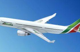 Alitalia ganha prêmio de pontualidade no Rio de Janeiro